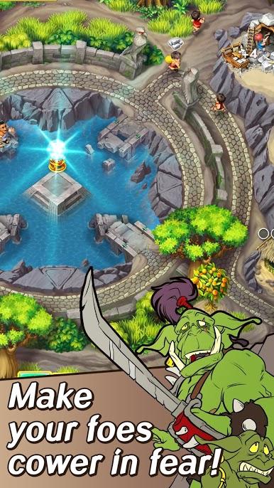 دانلود 2019.1.600 Kingdom Chronicles 2. Free Strategy Game – بازی پادشاهی تواریخ برای اندروید