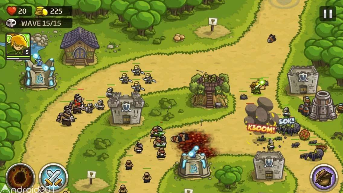 دانلود Kingdom Rush 3.0.5 – بازی استراتژی حمله پادشاهی اندروید