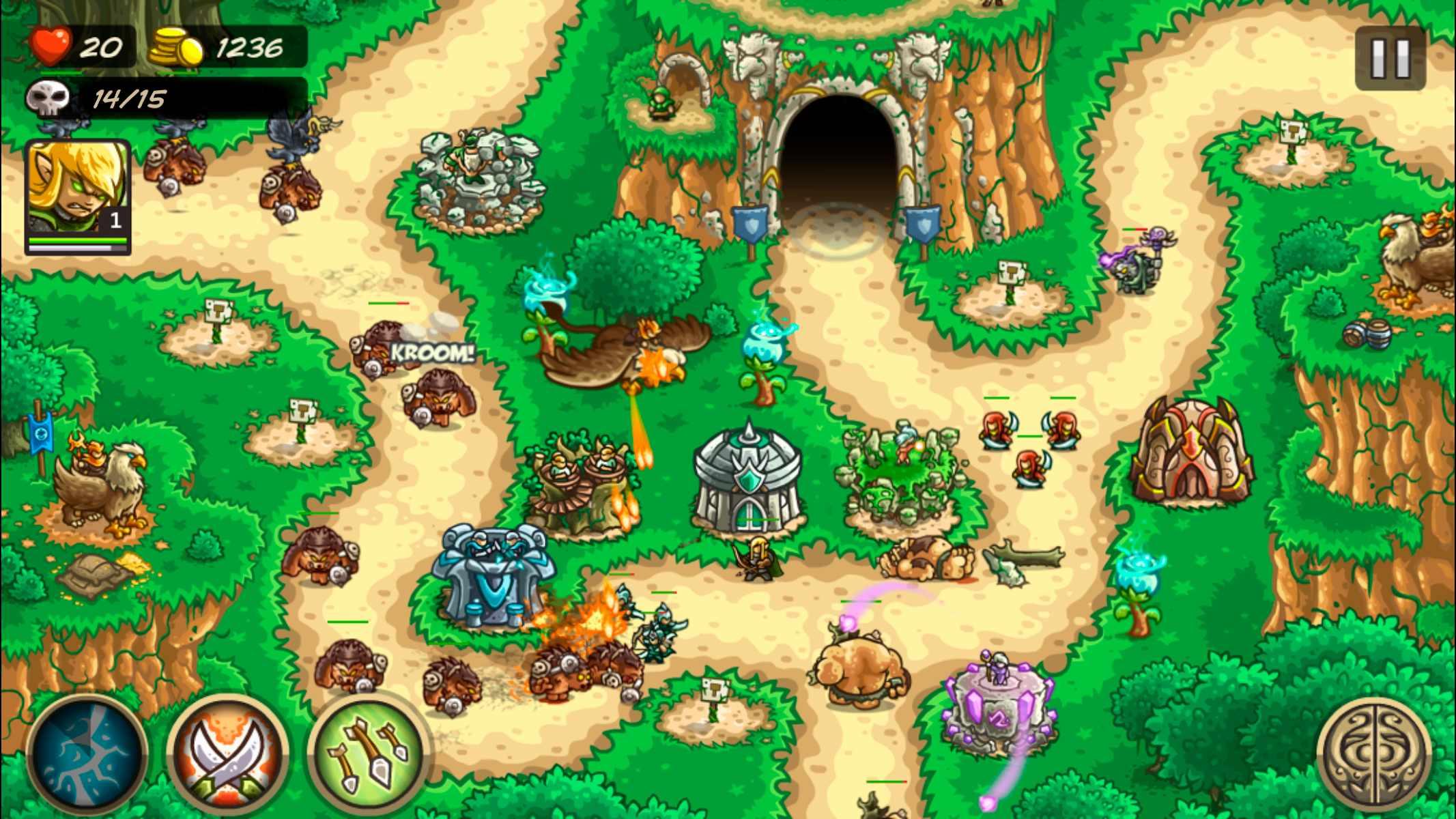 دانلود Kingdom Rush Origins 4.2.13 – بازی استراتژیکی هجوم پادشاهی اندروید