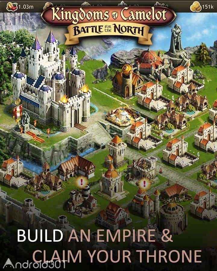 دانلود Kingdoms of Camelot: Battle 20.5.4 – بازی استراتژیکی آنلاین اندروید
