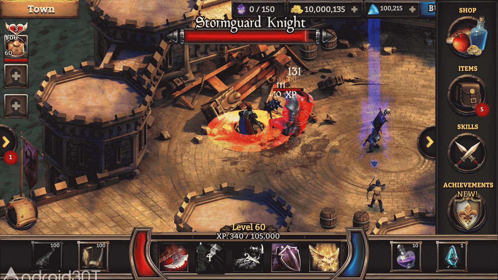 دانلود KingsRoad 7.9.1 – بازی نقش آفرینی مسیر پادشاهان اندروید