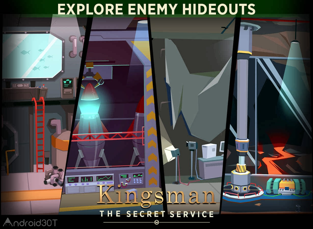 دانلود Kingsman – The Secret Service 2.0 – بازی اکشن کینگزمن اندروید