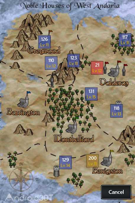 دانلود Kingturn RPG 3.2 – بازی تاکتیکی جدید اندروید