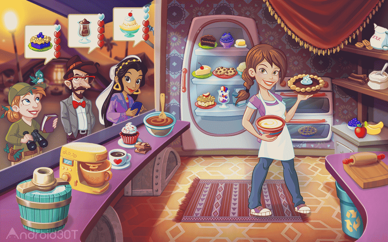دانلود Kitchen Scramble 9.2.0 – بازی دخترانه آشپزی اندروید