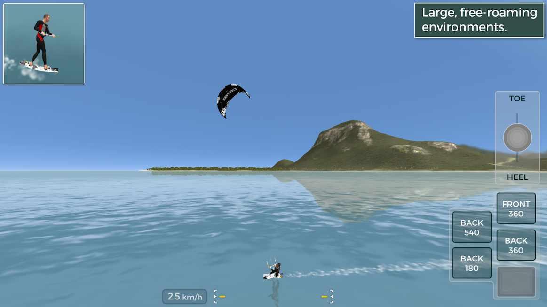 دانلود Kiteboard Hero 1.31 – بازی ورزش موج سواری اندروید