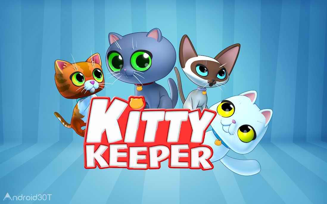 دانلود Kitty Keeper: Cat Collector 1.1.4 – بازی شبیه سازی زندگی گربه اندروید