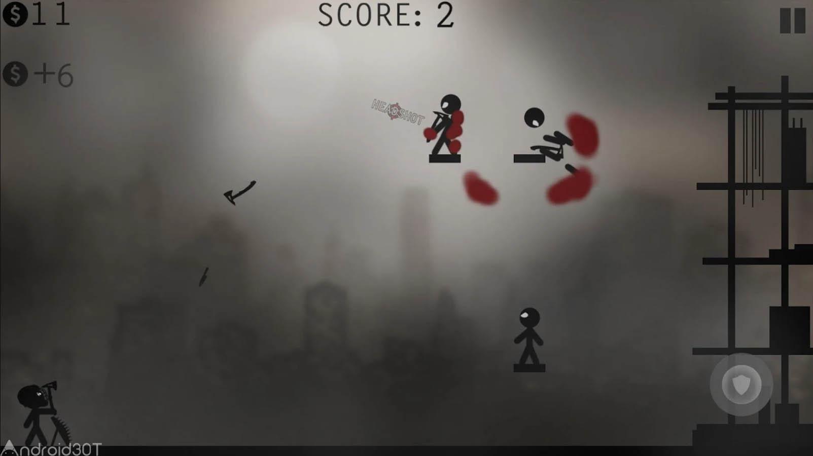 دانلود Knife Attacks – Stickman Battle 1.2.7 – بازی اکشن حمله با چاقو اندروید