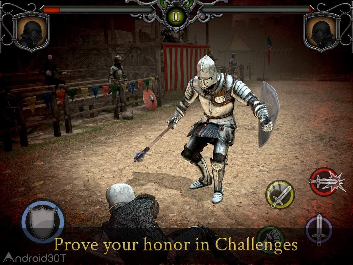 دانلود Knights Fight: Medieval Arena 1.0.21 – بازی اکشن شمشیرزنی اندروید