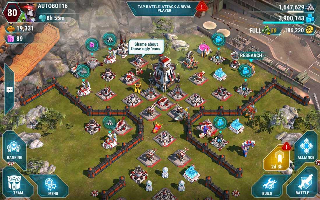 دانلود ۸٫۰٫۰٫۴۶۷ Transformers: Earth Wars – بازی ترانسفورمرز جنگ زمینی اندروید