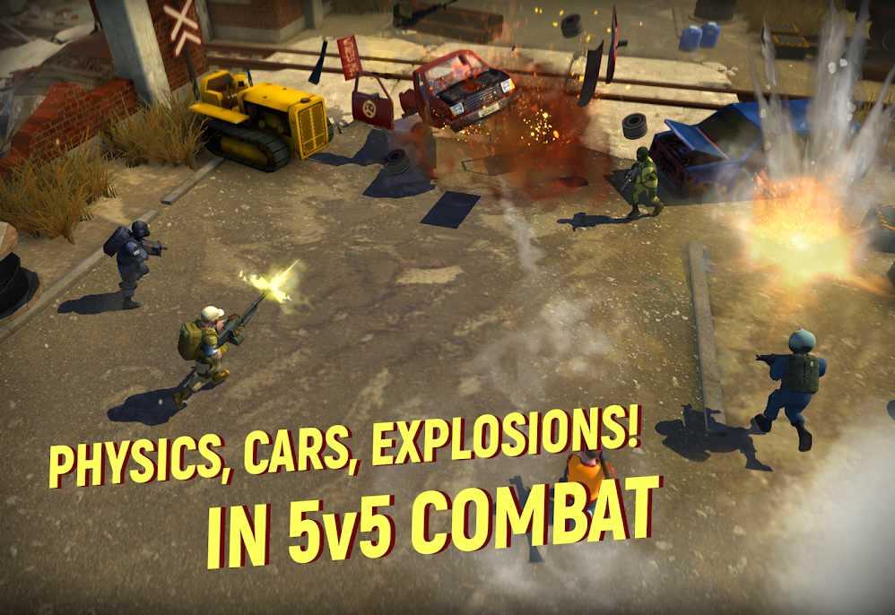 دانلود Tacticool – 5v5 shooter 1.34.0 – بازی تیراندازی چند نفره برای اندروید