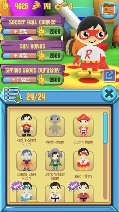 دانلود Tag with Ryan 1.1.0 – بازی دوندگی رایان اندروید