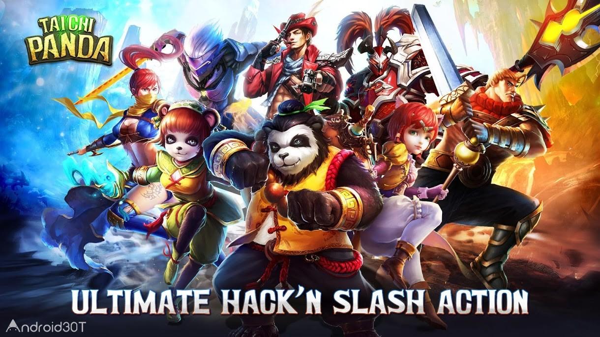 دانلود Taichi Panda 4.17.0 – بازی نقش آفرینی پاندا تایچی اندروید