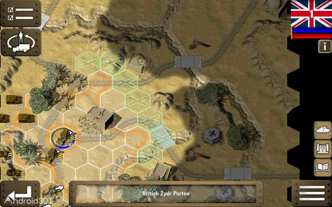 دانلود Tank Battle: North Africa 1.0 – بازی نبرد تانک ها اندروید