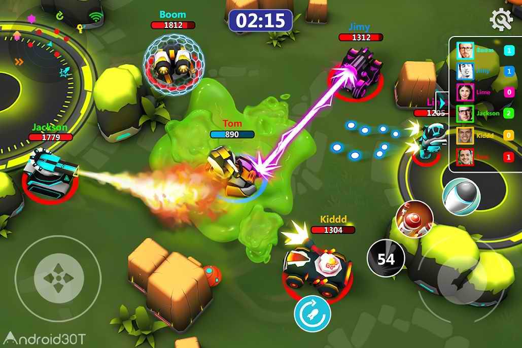 دانلود Tank Raid Online 2.67 – بازی آنلاین نبرد تانک ها اندروید