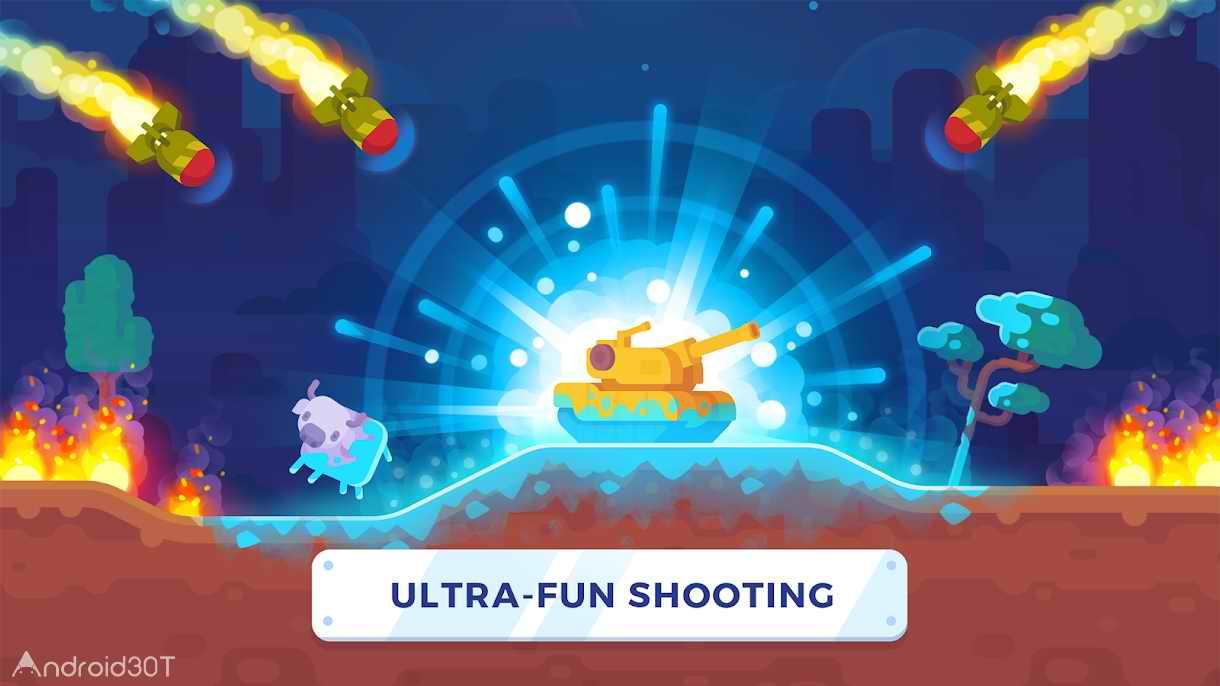 دانلود Tank Stars 1.5.4 – بازی اکشن ستاره تانک اندروید