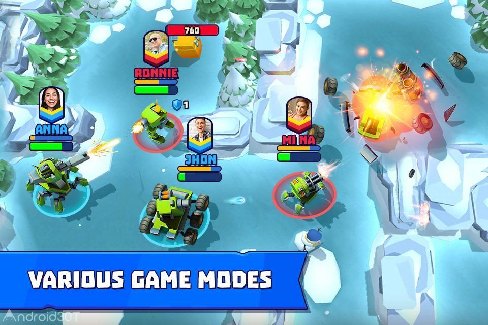 دانلود 3.10 Tanks A Lot! – Realtime Multiplayer – بازی اکشن میدان جنگ چند نفره اندروید