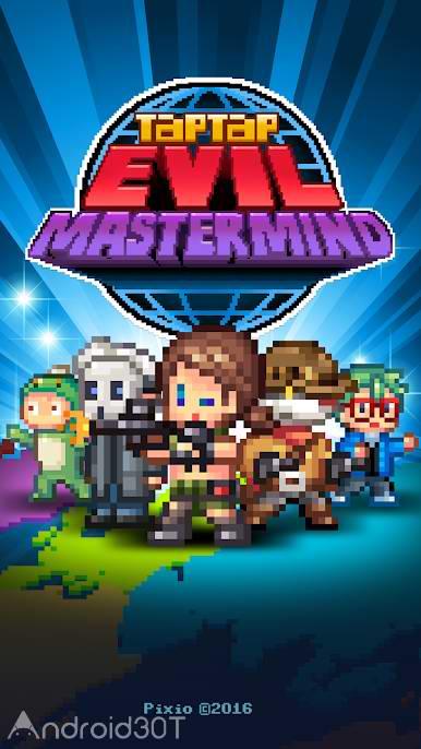 دانلود Tap Tap Evil Mastermind 1.15.6- بازی کلیکی جدید اندروید