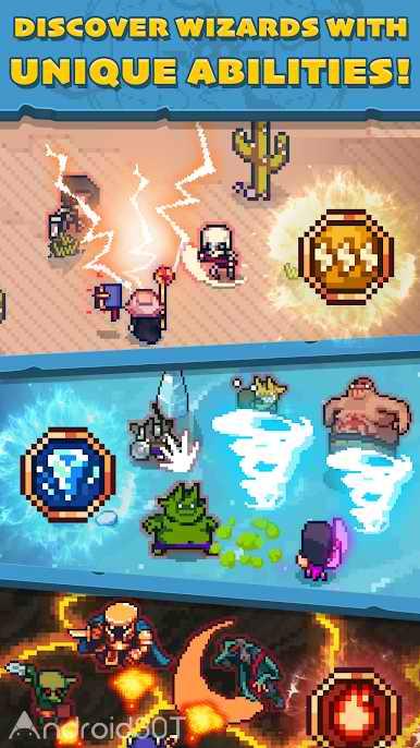دانلود Tap Wizard RPG: Arcane Quest 1.9.1 – بازی شبیه ساز نبردهای حماسی اندروید