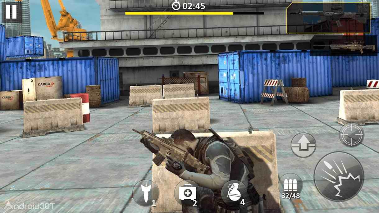 دانلود 1.1.0 Target Counter Shot – بازی تیراندازی بدون دیتای اندروید