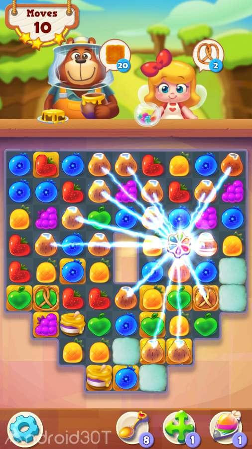 دانلود Tasty Treats 20.1 – بازی حذف میوه های مشابه اندروید