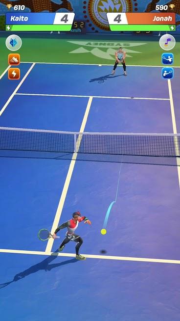 دانلود Tennis Clash: 3D Sports v2.16.3 – بازی تنیس چند نفره آنلاین اندروید