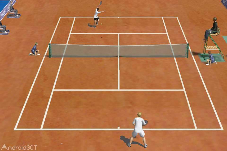 بازی Tennis Untimate 3D Pro 3D – بازی ورزشی تنیس سه بعدی برای اندروید
