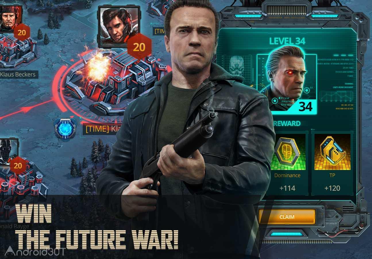 دانلود Terminator Genisys: Future War 1.9.3.274 – بازی ترمیناتور جنسیس اندروید