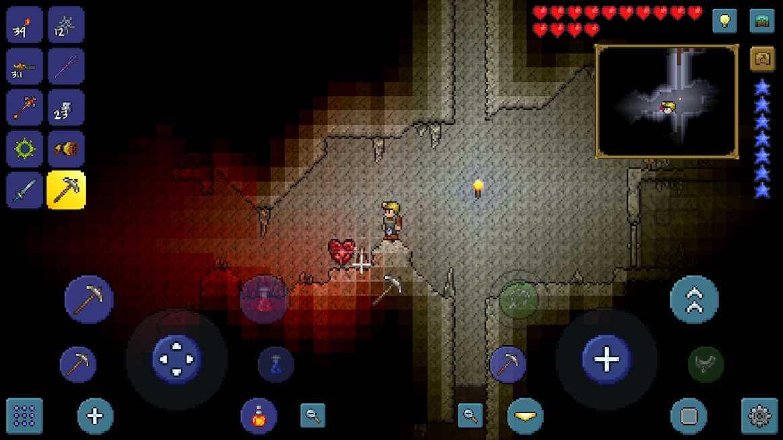 دانلود Terraria. v1.4.0.5.2 – بازی جزیره شناور اندروید