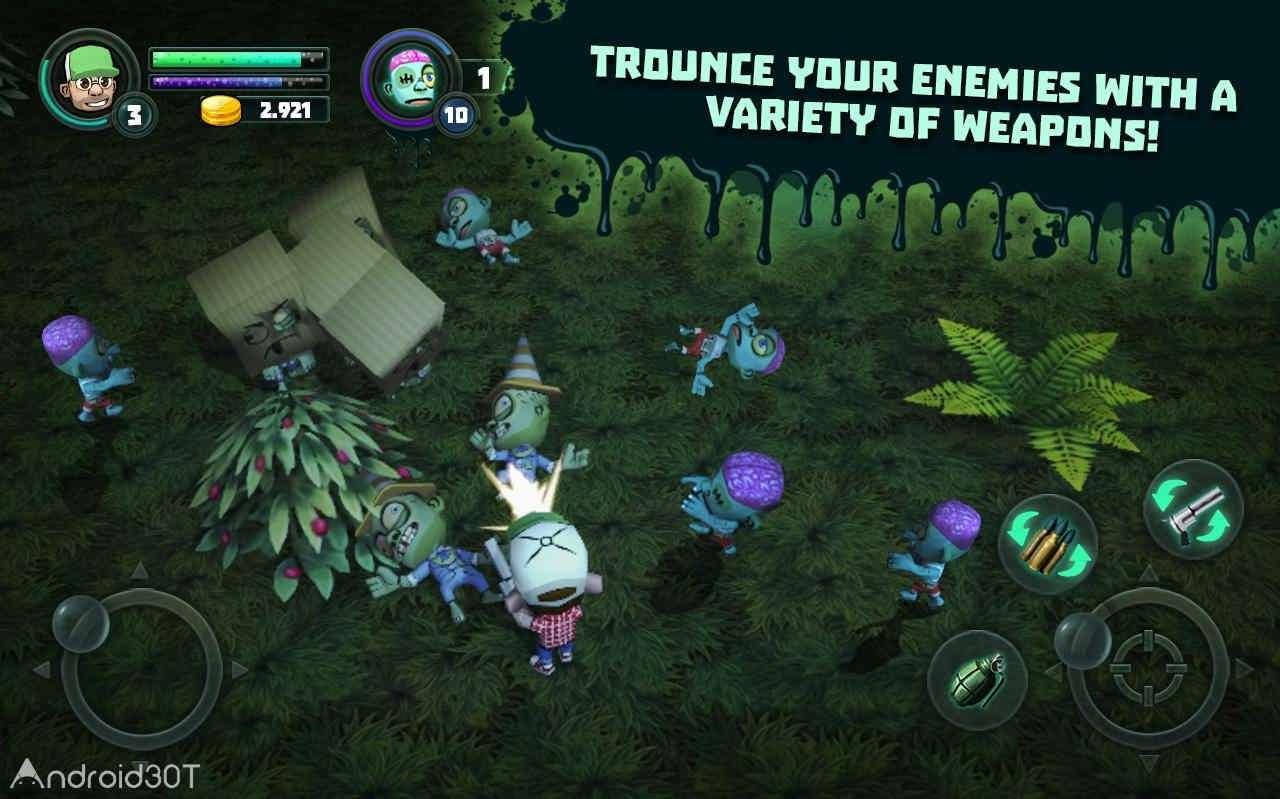 دانلود Terror Hunter 1.1 – بازی اکشن شکارچی زامبی اندروید