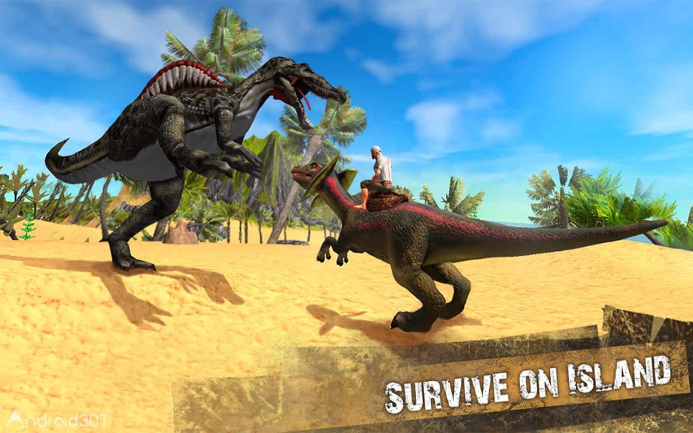 دانلود The Ark of Craft: Dinosaurs Survival Island Series 3.3.0.4 – بازی بقا در جزیره ی دایناسورها اندروید