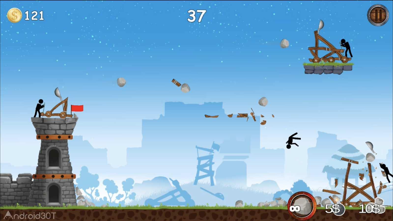 دانلود The Catapult 1.1.5 – بازی آرکید منجنیق اندروید
