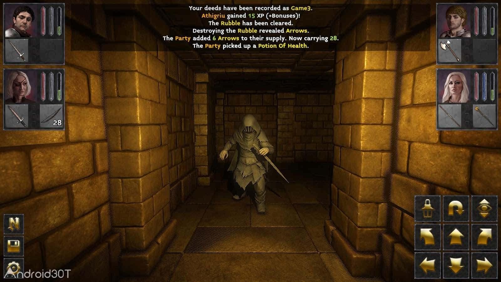 دانلود The Deep Paths v8 – بازی نقش آفرینی راه عمیق اندروید