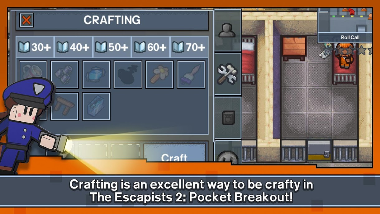 دانلود 1.4.576665 The Escapists 2: Pocket Breakout – بازی استراتژیکی اندروید