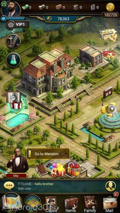 دانلود The Godfather: Family Dynasty 1.89 – بازی استراتژیکی پدرخوانده اندروید
