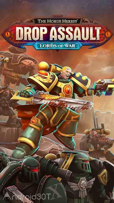 دانلود The Horus Heresy: Drop Assault 2.4.3 – بازی استراتژیکی بدون دیتا اندروید