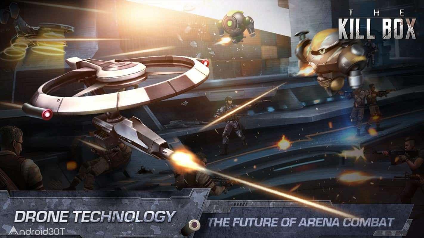 دانلود 2.12 The Killbox: Arena Combat – بازی اکشن و آنلاین کیل باکس اندروید