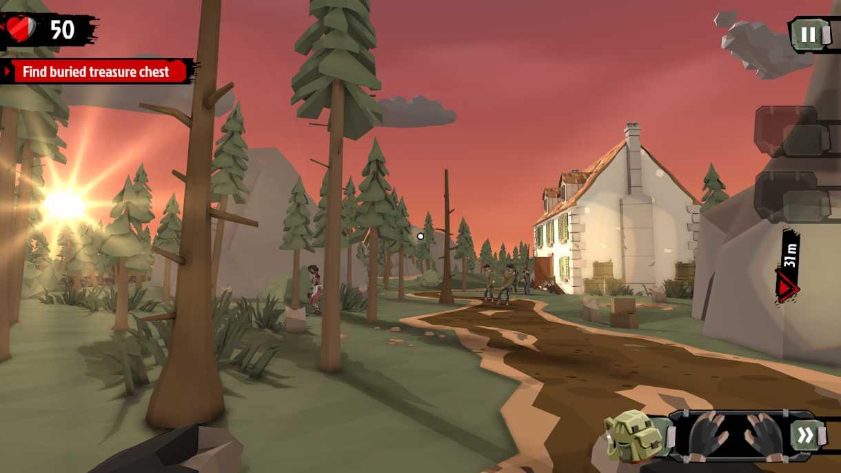 دانلود 3.5.12 The Walking Zombie 2 : Zombie shooter – بازی اکشن پیاده روی زامبی اندروید