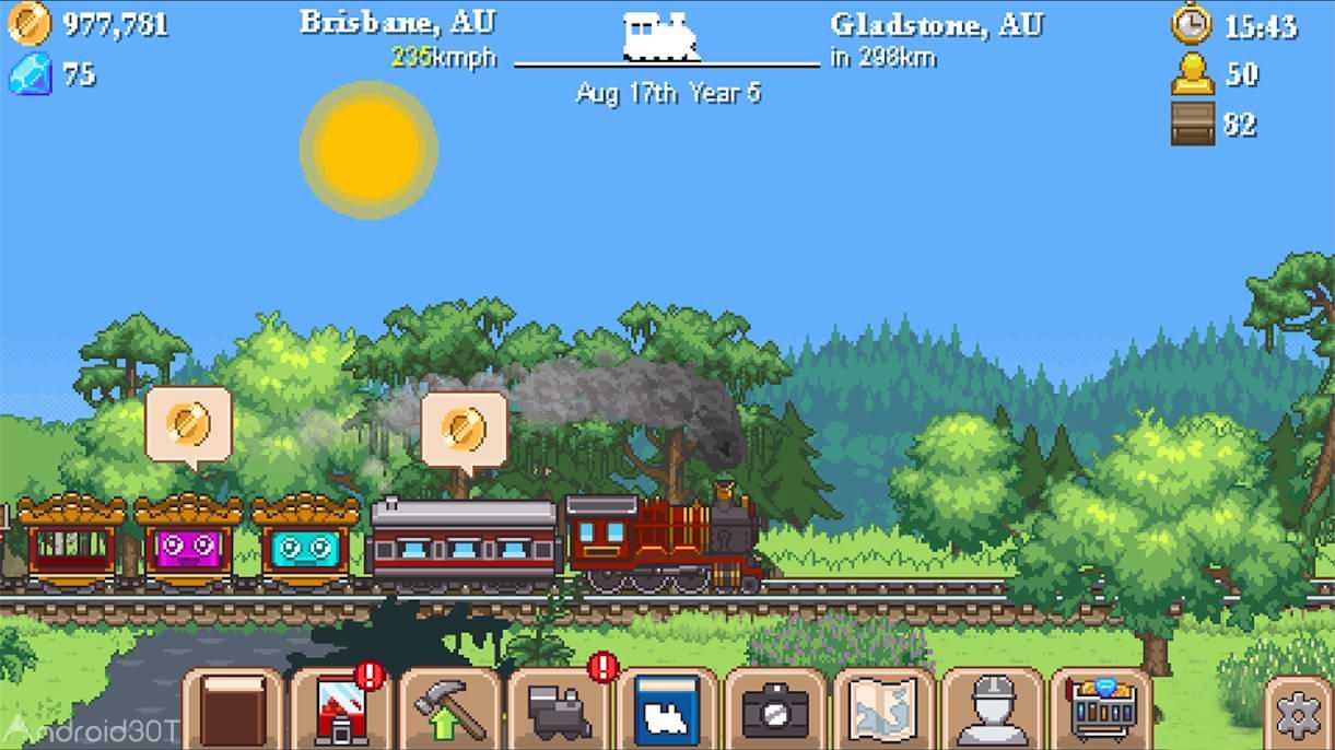 دانلود Tiny Rails 2.9.29- بازی آرکید هدایت قطار اندروید