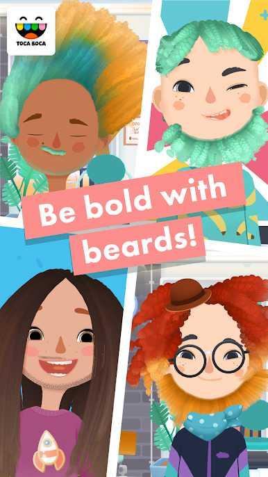 دانلود Toca Hair Salon 3 v1.2.5 – بازی کودکانه سالن مو توکا اندروید