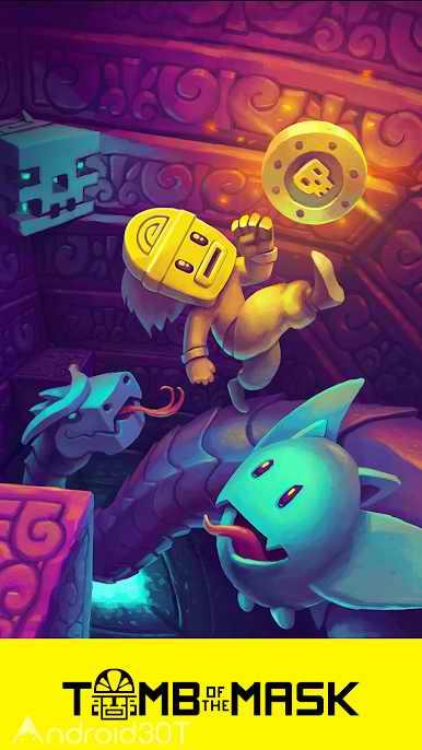 دانلود Tomb of the Mask 1.1 – بازی اکشن بدون دیتای اندروید