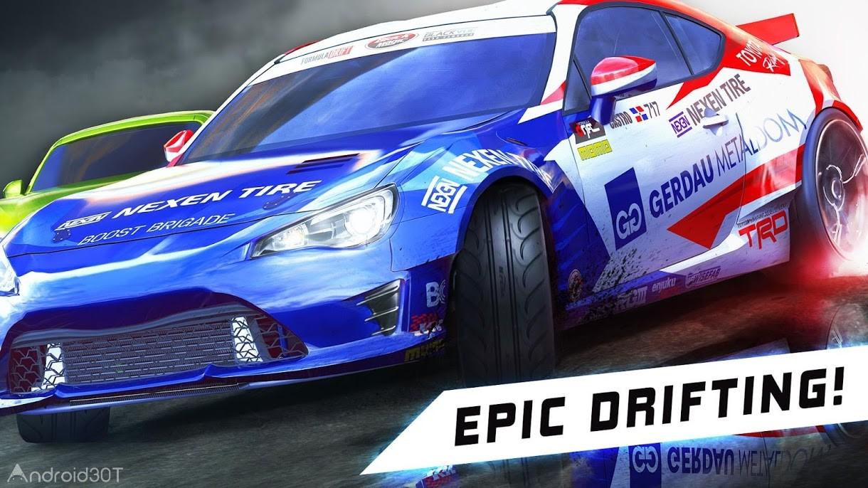 دانلود Torque Drift 2.0.0 – بازی مسابقات ماشین سواری اندروید