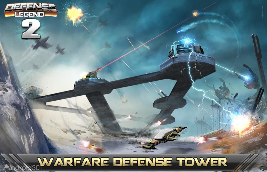 دانلود Defense Legend 2 v3.4.8 – بازی استراتژیکی افسانه دفاع ۲ اندروید