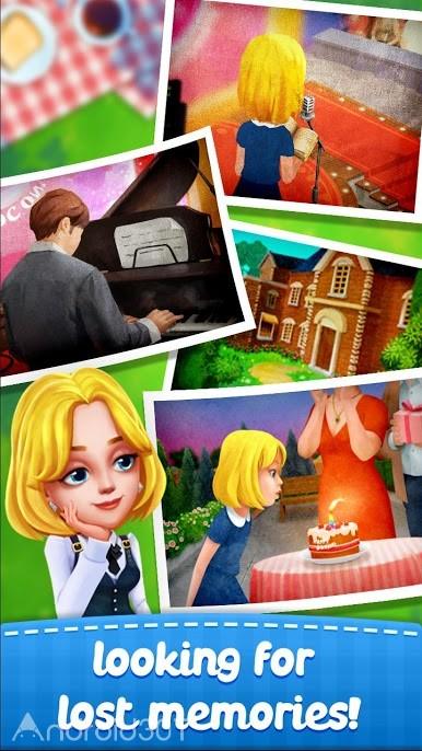 دانلود 3.5.5002 Town Story – Match 3 Puzzle – بازی پازلی جدید اندروید