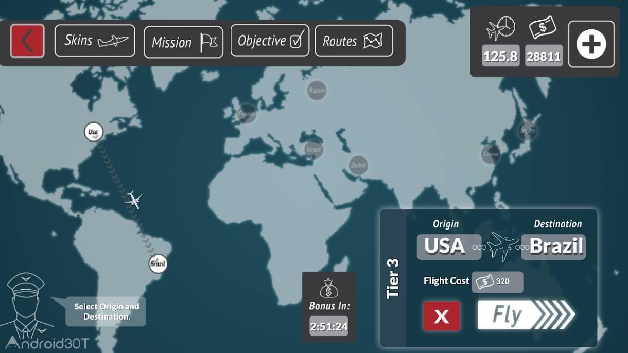 دانلود Transporter Flight Simulator 4.2 – بازی شبیه سازی پرواز با هواپیما اندروید