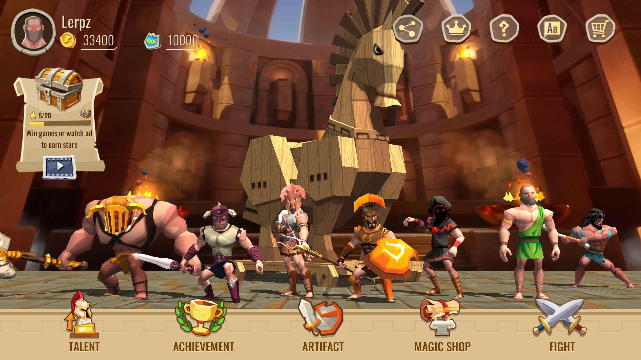 دانلود Trojan War 2.3.5 – بازی استراتژیکی تاکتیکی جنگ تروجان اندروید
