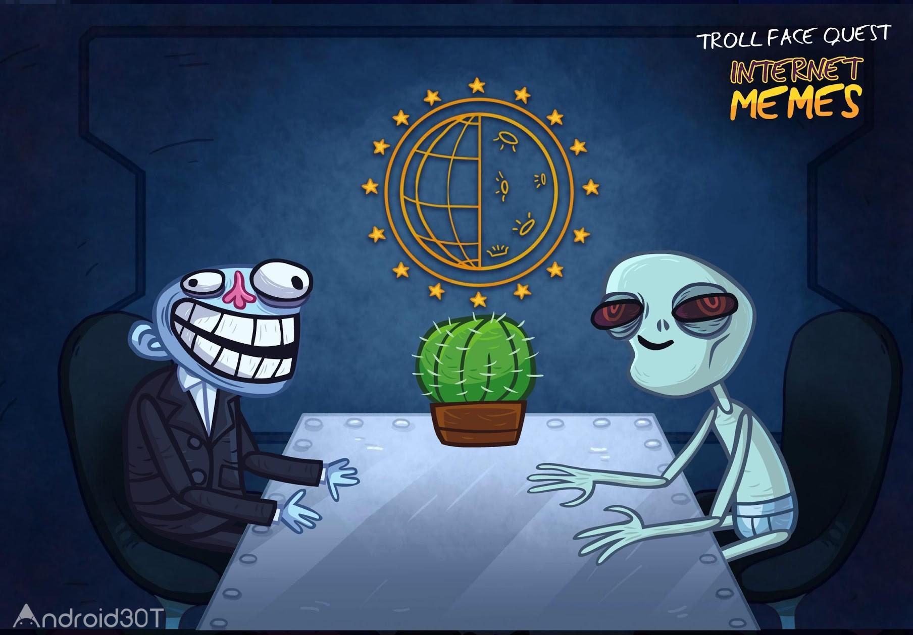 دانلود Troll Face Quest Internet Memes 1.9.0 – بازی پازلی شخصیت های ترولی اندروید