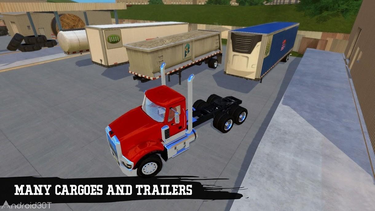 دانلود Truck Simulation 19 1.7 – بازی شبیه ساز کامیون اندروید