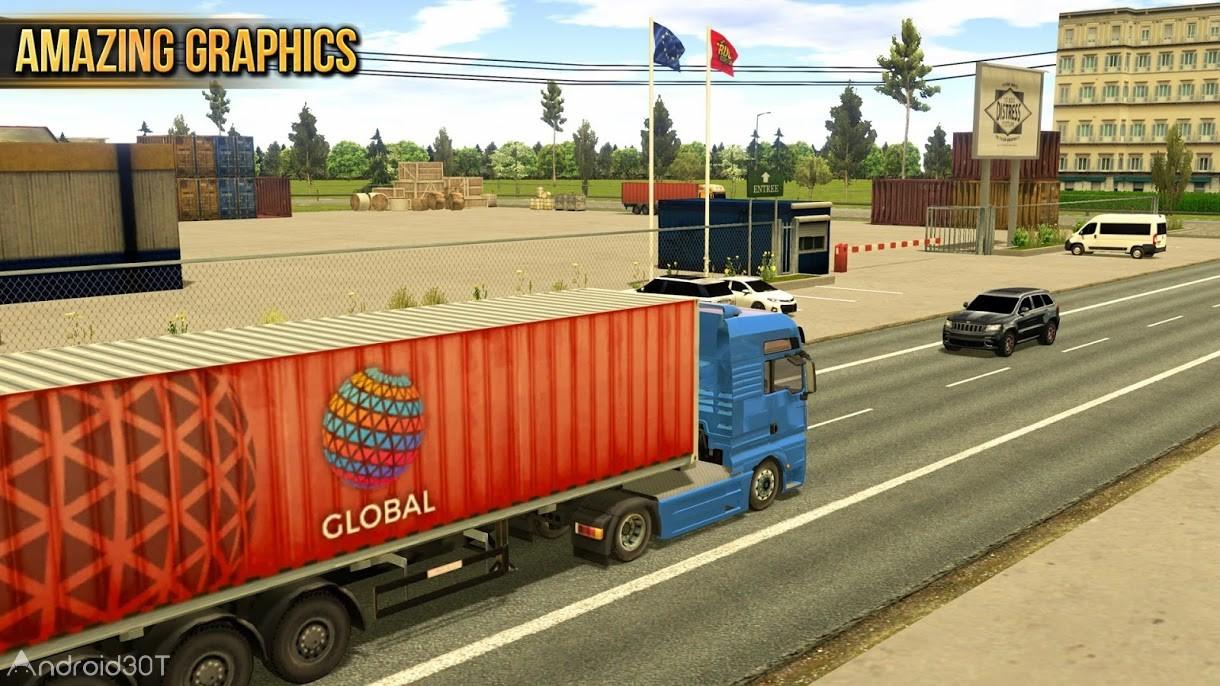 دانلود Truck Simulator 2018 : Europe 1.2.6 – بازی رانندگی با کامیون 2018 اندروید