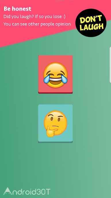 دانلود Try Not To Laugh 1.0.1 – بازی جالب خنده دار برای اندروید