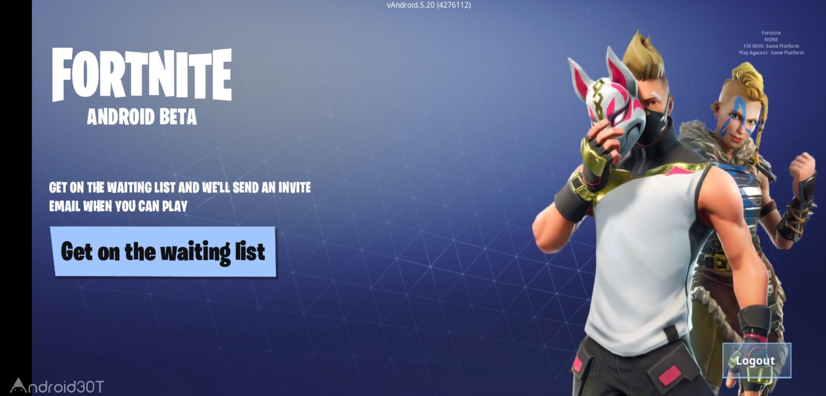 دانلود Fortnite Battle Royale 12.30.0 – بازی اکشن فورتنایت بتل رویال اندروید